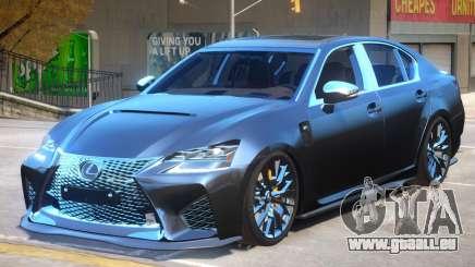 Lexus GS-F 2019 pour GTA 4