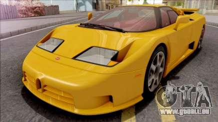 Bugatti EB110 SS (US-Spec) 1992 IVF für GTA San Andreas
