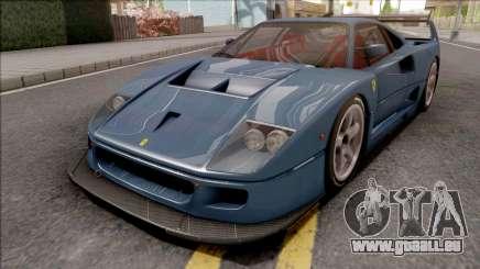 Ferrari F40 LM 1989 für GTA San Andreas