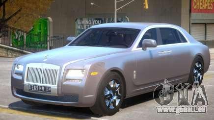 Rolls Royce Ghost V2 pour GTA 4