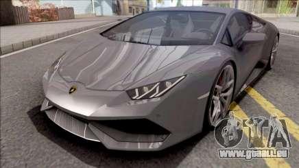 Lamborghini Huracan 2015 Grey pour GTA San Andreas