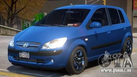 Hyundai Getz V1.1 pour GTA 4
