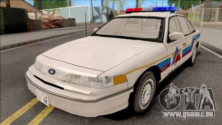 Ford Crown Victoria 1993 Hometown Police pour GTA San Andreas