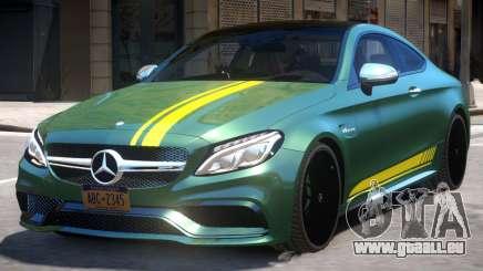 2016 Mercedes Benz AMG C63 S pour GTA 4