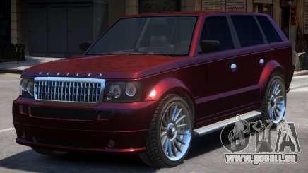 New Huntley Sport Interior pour GTA 4