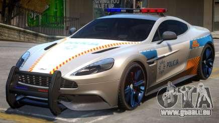 AM Vanquish Police pour GTA 4