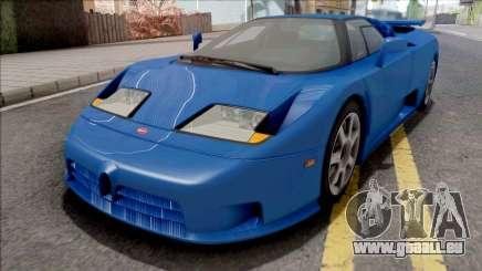 Bugatti EB110 SS (US-Spec) 1992 HQLM für GTA San Andreas