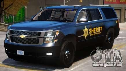 Chevrolet Suburban Police für GTA 4