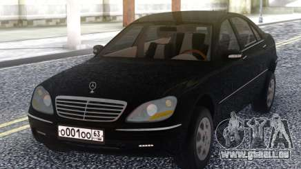 Mercedes-Benz W220 für GTA San Andreas