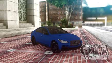 Infiniti Q50 Blue Sedan pour GTA San Andreas