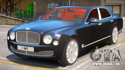 Bentley Mulsanne V1.1 pour GTA 4