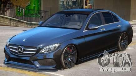 Mercedes Benz C250 V2 pour GTA 4
