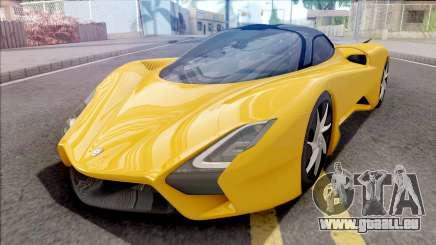 SSC Tuatara 2019 für GTA San Andreas