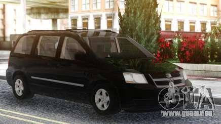Dodge Grand Caravan 2010 Black für GTA San Andreas