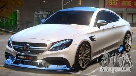 Mercedes Benz C63 Brabus V2 für GTA 4