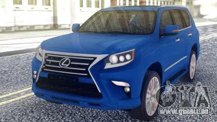Lexus GX460 2014 Offrad White pour GTA San Andreas