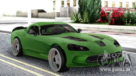 Dodge Viper SRT10 Formula Drift für GTA San Andreas