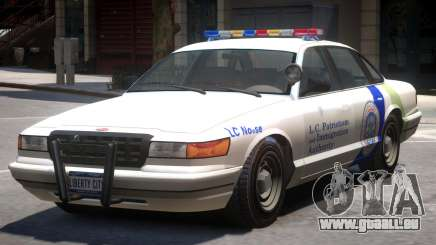Police Vapid Stanier V2 pour GTA 4