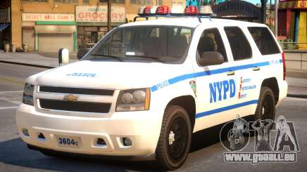 NYPD Chevrolet Tahoe pour GTA 4