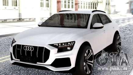 Audi Q8 2019 White pour GTA San Andreas
