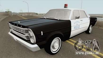 Ford Galaxie 1966 Police für GTA San Andreas