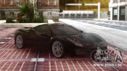 Ferrari 488 Pista 2019 Black pour GTA San Andreas