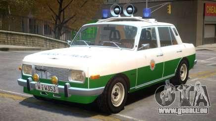 Wartburg 353 Police für GTA 4