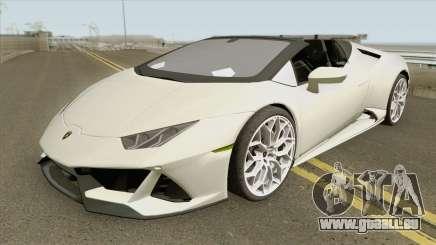 Lamborghini Huracan Evo Spyder 2020 pour GTA San Andreas