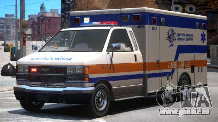 Ambulance Cerveza Heights Medical Center pour GTA 4