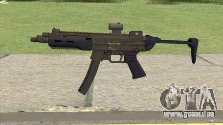 Hawk And Little SMG (Two Upgrades V3) GTA V pour GTA San Andreas