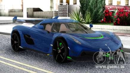 Koenigsegg Jesko 2019 Racing pour GTA San Andreas