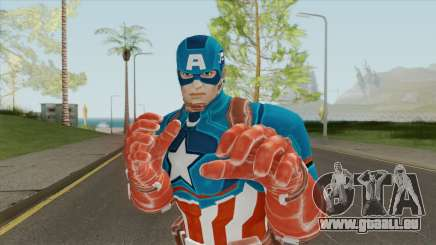 Captain America V1 (Marvel Ultimate Alliance 3) für GTA San Andreas