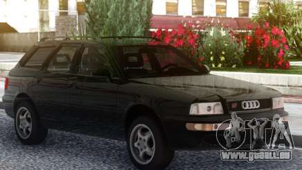 Audi RS2 Avant Black pour GTA San Andreas