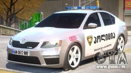 Skoda Octavia Police pour GTA 4