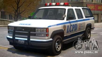Declasse Granger Police V2 pour GTA 4
