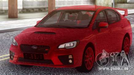 Subaru WRX STI 2017 Red Original pour GTA San Andreas