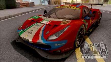 Ferrari 488 GTE Evo 2018 (AF Corse) PJ Preset 2 für GTA San Andreas