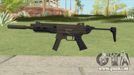 Hawk And Little SMG (With Silenced V1) GTA V für GTA San Andreas