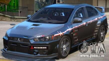 Mitsubishi Lancer Evo X PJ1 pour GTA 4