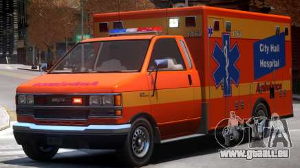 Ambulance City Hall Hospital pour GTA 4