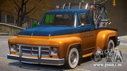 Vapid Tow Truck Restored V2 pour GTA 4