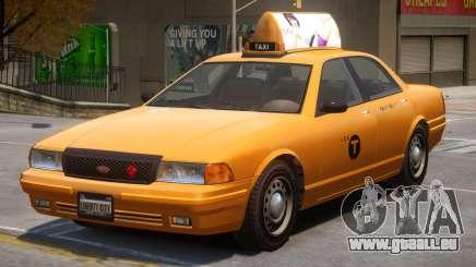 Vapid Stanier Taxi Modern für GTA 4