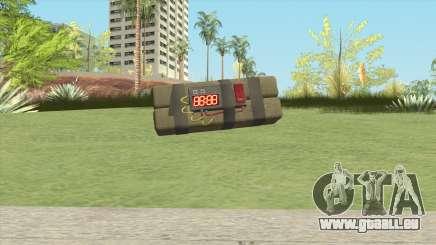 Sticky Bomb From GTA V für GTA San Andreas