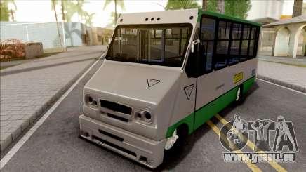 Chevrolet Hidrobus für GTA San Andreas