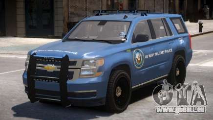 Chevrolet Tahoe Military Police pour GTA 4