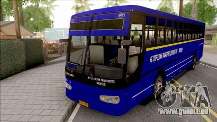 Metropolitan Trans Wilofield Blue Bus pour GTA San Andreas