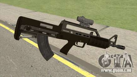 Bullpup Rifle (With Scope V1) GTA V pour GTA San Andreas