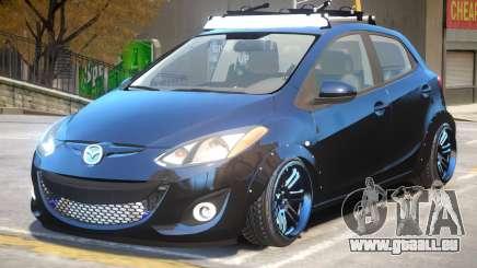 Mazda 2 V1.1 pour GTA 4