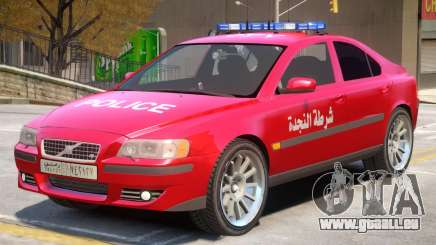 Volvo S60 Police Syrian pour GTA 4