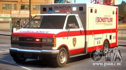 Schottler Ambulance Service pour GTA 4